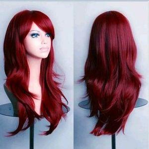 Coming soon! Burgundy wig